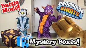 mystery boxes from activision skylanders costumes u0026 real life