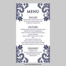 menu card templates damask wedding menu template menu templates wedding menu