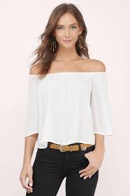shoulder blouse white blouse shoulder blouse white blouse 22
