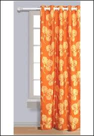 Burnt Orange Sheer Curtains Burnt Orange And Brown Shower Curtain 100 Images Brown And