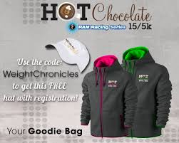 chocolate 5k 15k promo code u0026 news weight chronicles