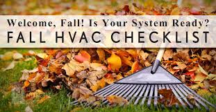 thanksgiving check list fall hvac checklist get your system ready the nitsche group