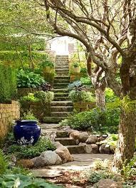 Landscape Ideas For Sloping Backyard Small Landscaping Ideas Retaining Wall Hillside For Garden
