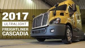 semi truck configurator 2017 ultralight freightliner cascadia truck tour youtube
