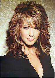 length layered hair shoulder length curly hairstyles hairstyles 2017