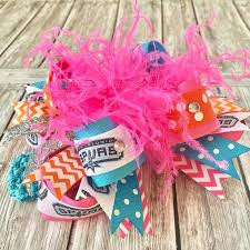 beautiful bows boutique buy retro spurs hair bow basketball nba online at beautiful bows