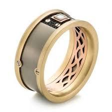 mens titanium wedding ring mens titanium wedding rings joseph jewelry bellevue seattle