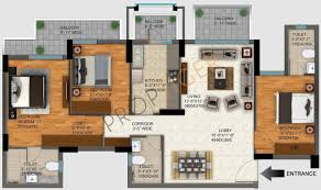 dlf regal garden 1693 floor plan 1 jpg