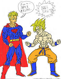 goku superman color redentor deviantart
