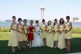 Canary Yellow Dresses For Weddings Shoes For My Bridesmaids U2014 The Knot