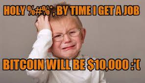 Bitcoin Meme - meme maker sad kid generator