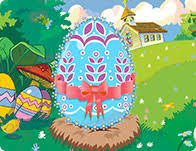 Decorate Easter Eggs Online by Cooking Games Easter Games