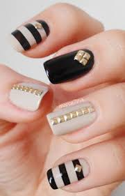 33 amazing nail art ideas with rhinestones gems pearls and studs
