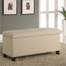 Bedroom Bench Seats Impressive Leather Bench Seat With Storage Appealing Ottoman Bench