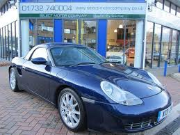 used porsche boxster s used blue porsche boxster 2000 petrol 3 2 s 2dr hardtop