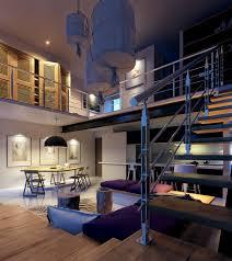 industrial staircase design interior design ideas