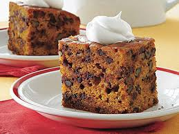 pumpkin chocolate chip cake recipe myrecipes