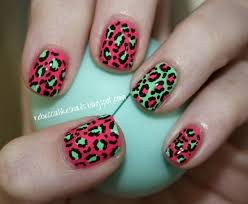 16 best cheetah print nail designs images on pinterest cheetah