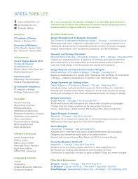 resume u2014 anita park lee portfolio