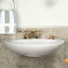 beautiful white wall mounted bathroom sink design orchidlagoon com