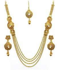 earring necklace set images 90 off on youbella antique kundan maharani temple traditional jpg