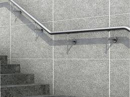 Wall Mounted Handrail Wall Side Mounted Handrail Kit Balustrading Solutions
