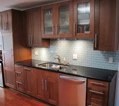 glass subway tile kitchen backsplash mosaic tile kitchen photos