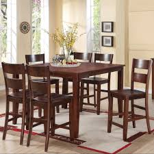 Bar Height Dining Room Table Sets Dining Room Bar Height Dining Table With 6 Chairs Cottage Dining