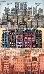 25 unique city illustration ideas on pinterest shadow