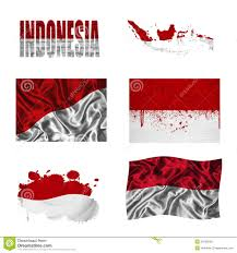 Flag Of Indonesia Image Flag Of Indonesia Word Stock Illustration Image Of Indonesian