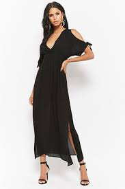 maxi dress with sleeves women s maxi dresses cami halter wrap dresses forever21