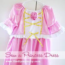 free tutorial sew a princess dress with a rose embellishment