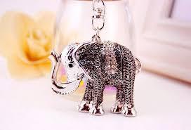 asian elephant ring holder images Auspicious elephant key chain ring holder lucky keychain jpg