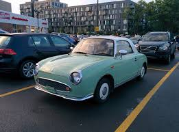 nissan figaro i saw this gorgeous nissan figaro near my place what a beauty