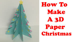 paper christmasree decorationspaperreeso make