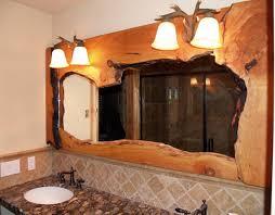 rustic vanities log home bathroom rustic bathroom mirrors western