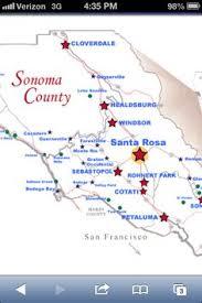sonoma california map napa versus sonoma understand the differences pic map of sonoma