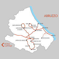 Map Italy Silhouettes Italian Cities by Abruzzo Italy 11 Day Tours Tour Packages Italian Provincial Tours