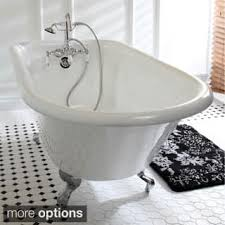 Clawfoot Tubs And Clawfoot Tub Faucets For Your Dream Bathroom Claw Foot Tubs For Less Overstock Com