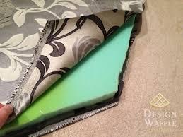 Cushion Padding Materials Sewing A Bay Window Seat Cushion Design Waffle