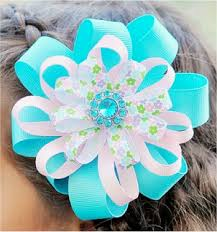 hair bow ribbon 5 diy hair bow tutorials do it yourself projects
