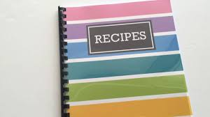 free printable recipe pages how to quickly make a diy recipe book plus free printable recipe