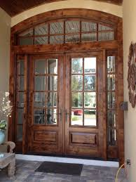 Solid Wooden Exterior Doors Exterior Solid Wood Exterior Entrance Door With Half Framed