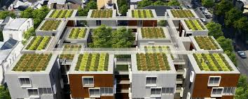 Urban Farm And Garden - garden village is a proposed factory built student housing and