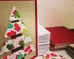 christmas card kit etsy