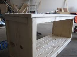 Ana White Desk Plans by Ana White Footboard Bench Diy Projects