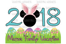 easter mickey mouse easter 2018 with mickey mouse easter bunny personalized disney