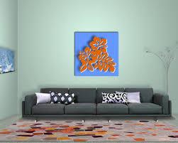 Wohnzimmer Orange Wanddeko Wohnzimmer Und Modernen Mbeln Kleines Gerumiges Geweihe