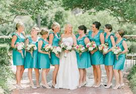 turquoise wedding best of southern weddings 2012 bridesmaid dresses southern weddings