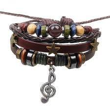 leather hand bracelet images 1p retro rope leather mens bracelets leather rope hand woven jpeg